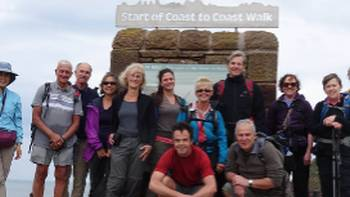 Ready to start the Coast to Coast walk | Jon Millen
