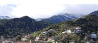 Village of Kakopetria in the Troodos mountains of Cyprus