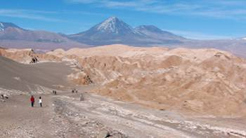 The lunar landscape of the Atacama Desert, Chile | Natasha Worm