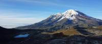Mt Chimborazo, Ecuador's highest mountain at 6310m