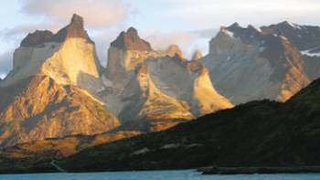 Early morning view of Cuernos del Paine, Patagonia | Carole Solomons