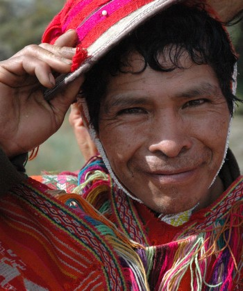 A porter on the Inca Trail - <i>Photo: Sarah Higgins</i>
