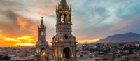 Picture perfect sunset over Arequipa | Richard I'Anson