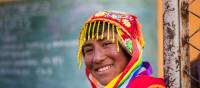 Local Peruvian smiling for the camera | Richard I'Anson