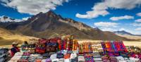 Colourful Peruvian rugs in Cusco | Richard I'Anson