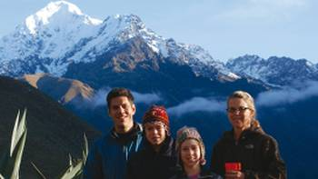 The Andes are a perfect family trekking destination | Pablo Segovia