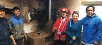 Community projects installing healthy cook stoves in Peru | Donna Lawrence