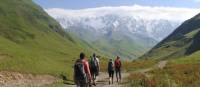 Hiking trails wind through the vast Caucasus Mountain range | Julie Haber