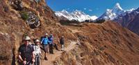 Everest Trekking for over 55's