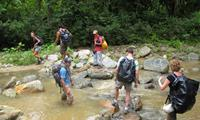 River Crossing on Colombia's Lost City Trek - Peter Heck