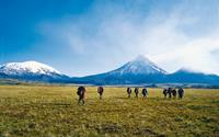 Kamchatka is a land characterized by vast wilderness, turquoise volcanic lakes and rare flowering plants of indescribably beauty. Image credit: Sue Fear