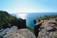 View from the Top of The Giant, Ontario. Photo credit: OTMPC