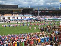 Naadam ceremony 2006