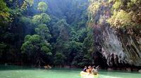 Kayaking in Phang Nga Bay, Thailand active adventure holidays - World Expeditions