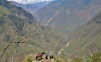 On the way to Choquequirao