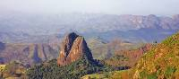 A view over the Simien Mountains in Ethiopia | Tina Van Pelt