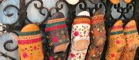 Traditional hand crafted slippers in Rabat | Robyn Lyons