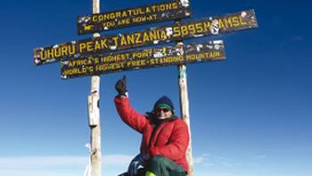 The summit of Mt Kilimanjaro | Philip Verrall