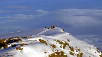 Summit the highest point Uhuru Peak on the volcano Kibo, 5,895 metres | Chris 73