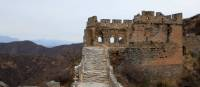 Untouched ruins of a watch tower along the Great Wall of China | Su Zhi Wei