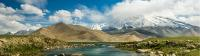 Hiking along the edge of Karakol Lake, on the Chinese side of the Karakoram Highway |  <i>Jarryd Salem</i>