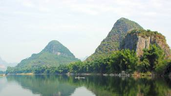 Limestone karst landscapes of Yangshuo, China