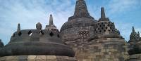 The architecture of Borobudur