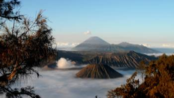 Views over Bromo Volcano