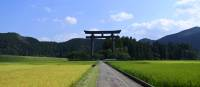 Japan's largest Torii Gate on the original site of Hongu Taisha