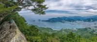 Panoramic views on the Kumano Kodo Pilgrimage Hike