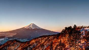 Views of Mount Fuji from the summit of Mount Mitsutoge, Japan | Colin Canfield