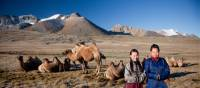 Local herders with their camels | Cam Cope