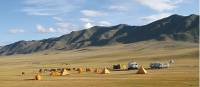 Camp in Turgen River Valley during Mongolian Panorama | Alan and Julie Marshall