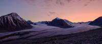 Sunset across the Mongolian Altai Mountains | Allan Kirk