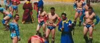 Competition is fierce during wrestling matches at Mongolia's Naadam Festival | Tim Cope
