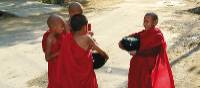 Young novice monks in the streets of Yangon, Myanmar | Mike Geisel