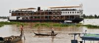 Discover life on the Mekong on this comfortable Mekong River cruise