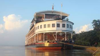 Cruising the Irrawaddy River, Myanmar