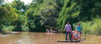 Bamboo Rafting in the Mae Rim Valley, Thailand | Rachel Imber