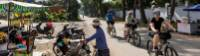Cycling quieter back streets in Vietnam |  <i>Lachlan Gardiner</i>