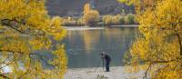 Photographer capturing the autumn colours in Otago | Peter Walton