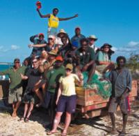 Arnhem Land Marine Rescue Community Project, Northern Territory. (This image may contain Aboriginal or Torres Straight Islander people who are deceased) -  Photo: Steve Trudgeon