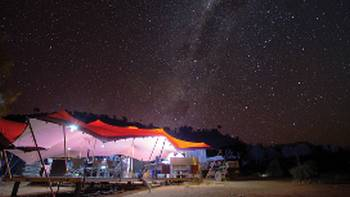 The stars of the desert sky are a stunning backdrop to our unique Semi-Permanent Campsites | Graham Michael Freeman