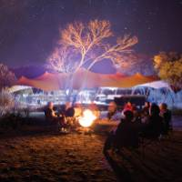 Around the campfire at Charlie's Camp on the Larapinta Trail |  <i>Graham Michael Freeman</i>