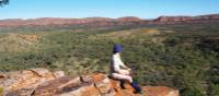 Ridge views on the Larapinta Trail | Latonia Crockett