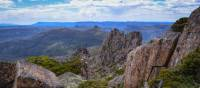 The view from the top of Tasmania, Mt Ossa 1617m | Mark Whitelock -