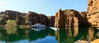 Cruising by the stunning Kimberley coastline