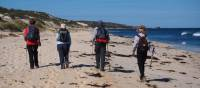 Walking along the Cape to Cape Track, Western Australia