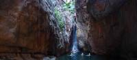 Relaxing swims in secluded waterholes