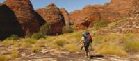 Trekking through Piccaninny Gorge in The Bungle Bungles, Western Australia | Steve Trudgeon